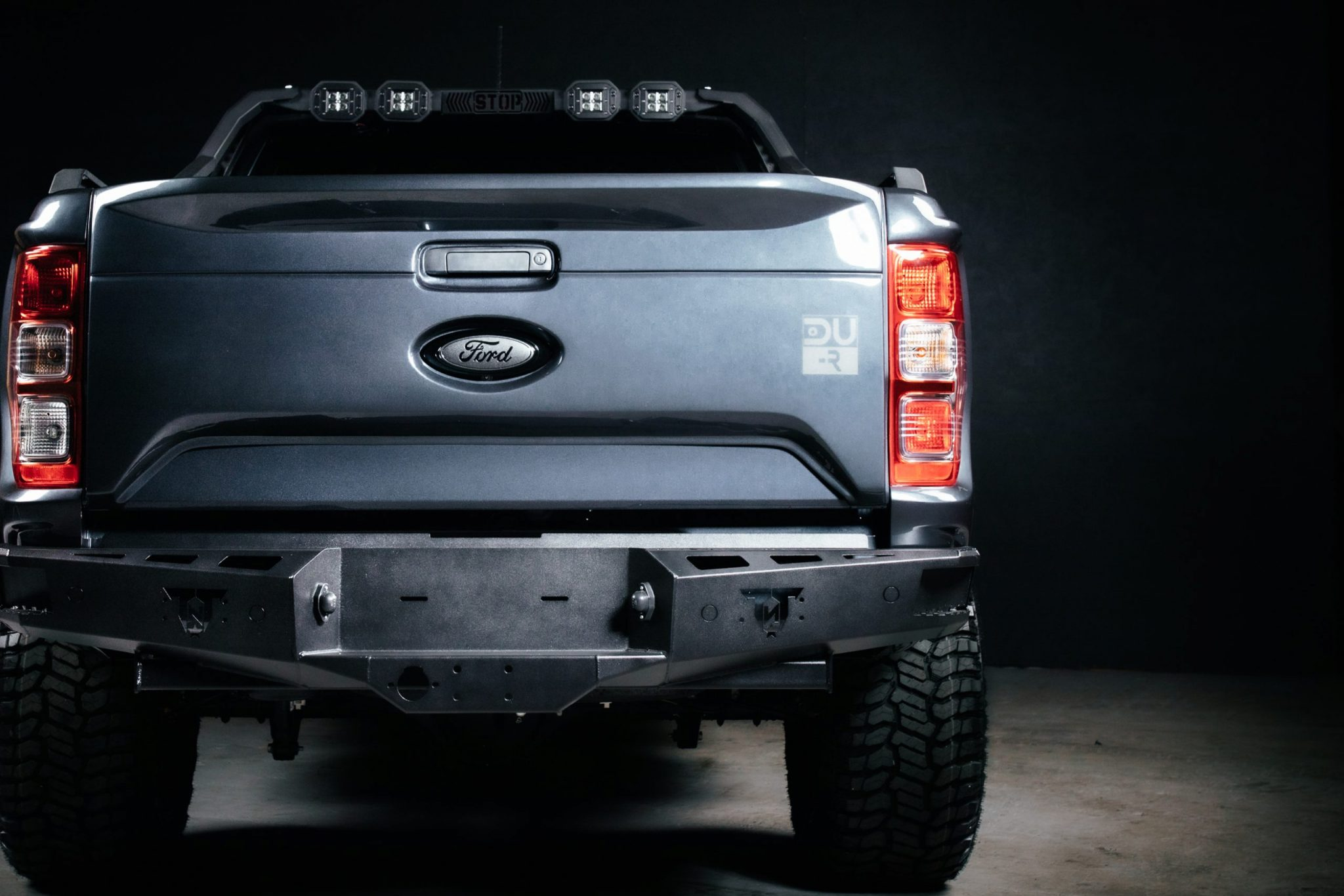 ford back view