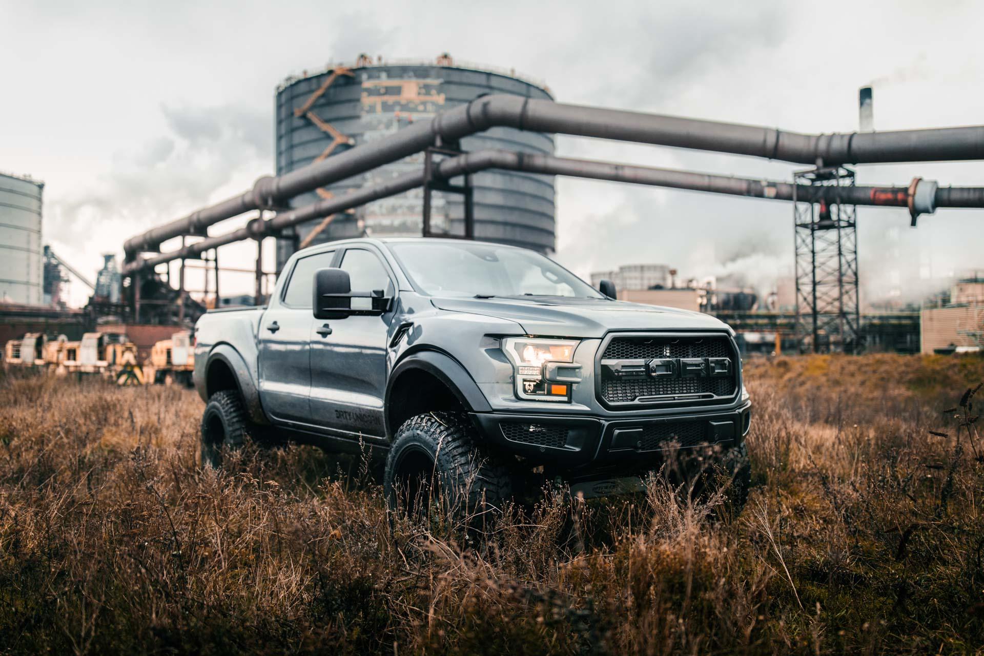 DU 150 Customised Ford Ranger