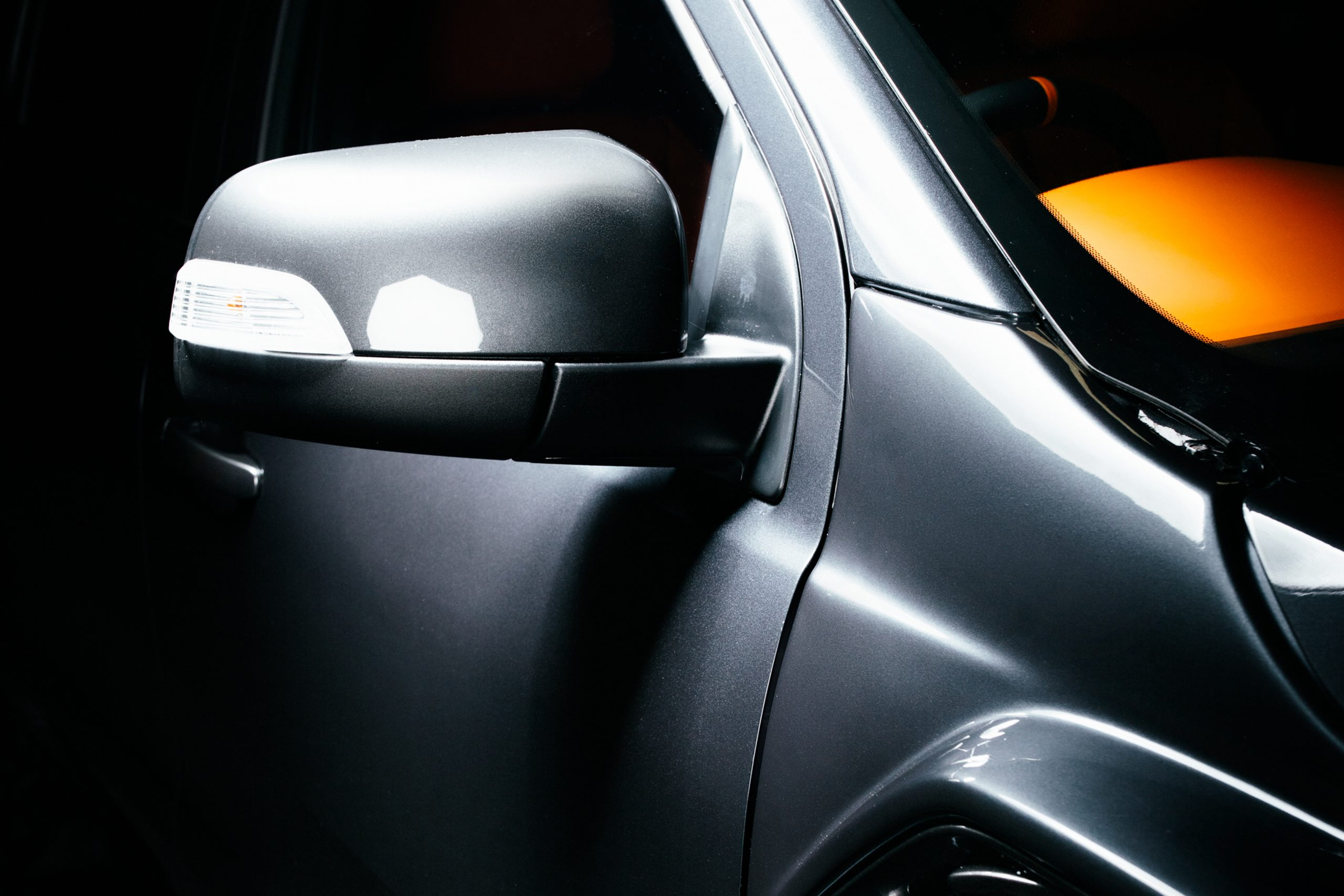 Side Mirrors with Light